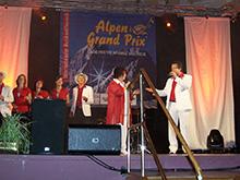 Alpen-Grand-Prix-Finale<br>in Meran/Italien